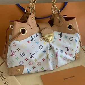 Authenticated Louis Vuitton Úrsula multicolor